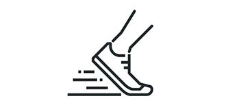 Sports Medicine running shoe icon